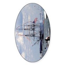 Old Ironsides Oval Decal