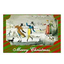 Jane Austen Christmas Postcards (Package of 8)