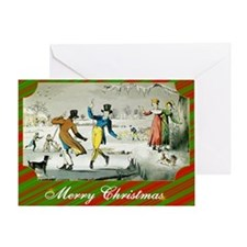 Jane Austen Christmas Greeting Card