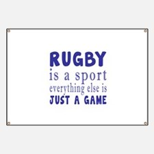 Rugby is a sport Banner