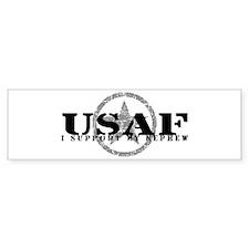 I Support My Nephew - Air Force Bumper Bumper Sticker