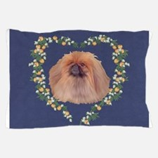 Pekingese Orange Blossom Pillow Case