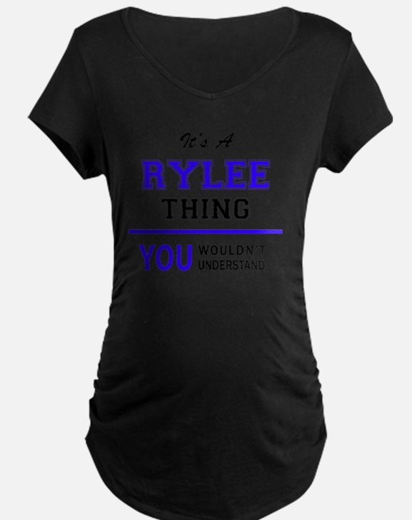 It's RYLEE thing, you wouldn't u Maternity T-Shirt