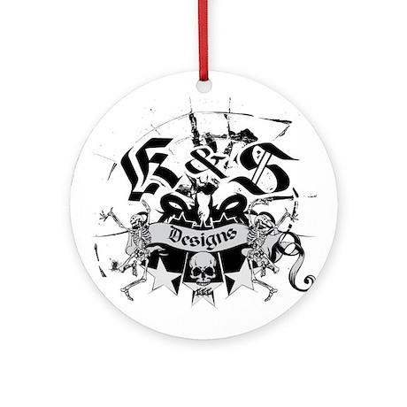K & S Designs Ornament (Round)
