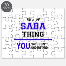 It's SABA thing, you wouldn't understand Puzzle