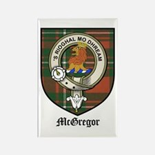 McGregor Clan Crest Tartan Magnets