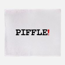 PIFFLE! Throw Blanket