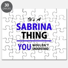 It's SABRINA thing, you wouldn't understand Puzzle
