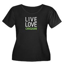 Live Love Origami T