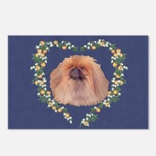 Pekingese Orange Blossom Postcards (package Of 8)