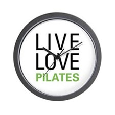 Live Love Pilates Wall Clock