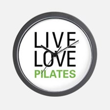 Live Love Pilates Wall Clock