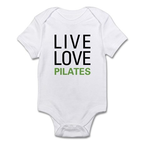 Live Love Pilates Infant Bodysuit