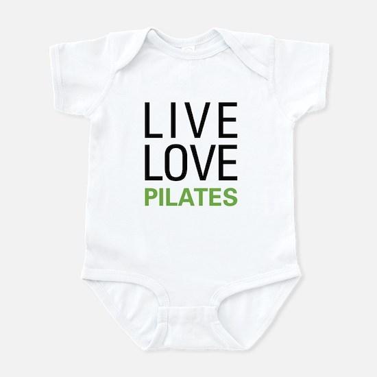 Live Love Pilates Infant Bodysuit