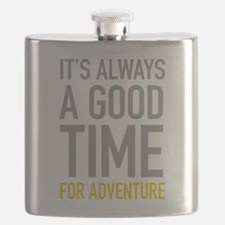 Good Time For Adventure Flask