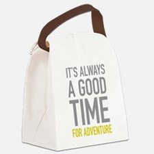 Good Time For Adventure Canvas Lunch Bag
