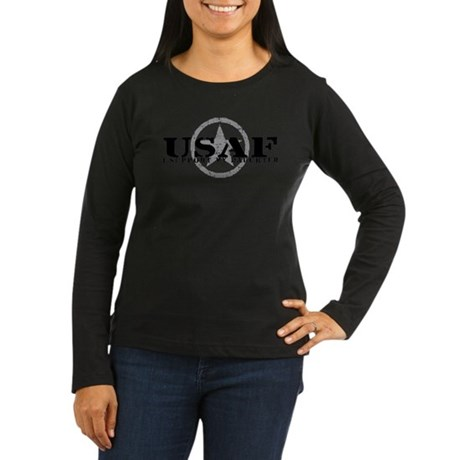 I Support My Daughter - Air Force Women's Long Sle