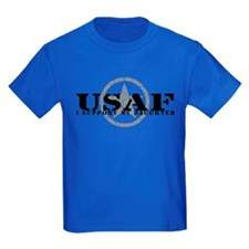 I Support My Daughter - Air Force T