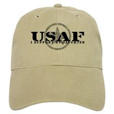 I Support My Daughter - Air Force Baseball Cap