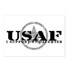 I Support My Daughter - Air Force Postcards (Packa