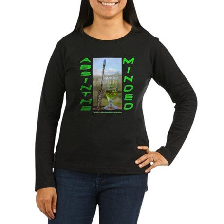 Absinthe Minded Women's Long Sleeve Dark T-Shirt