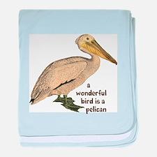 Pelican Fun baby blanket
