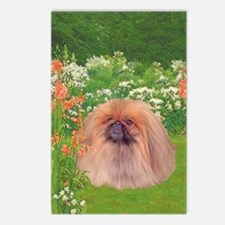 Pekingese Dog Garden Postcards (package Of 8)