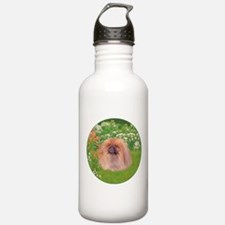 Pekingese Dog Garden Water Bottle