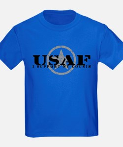 I Support My Cousin - Air Force T