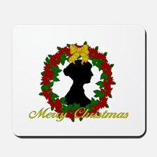 Jane Austen Christmas Mousepad