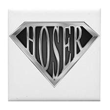 SuperHoser(metal) Tile Coaster