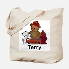 Terry's Fire Bear Tote Bag