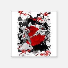 Samurai Fighting Sticker