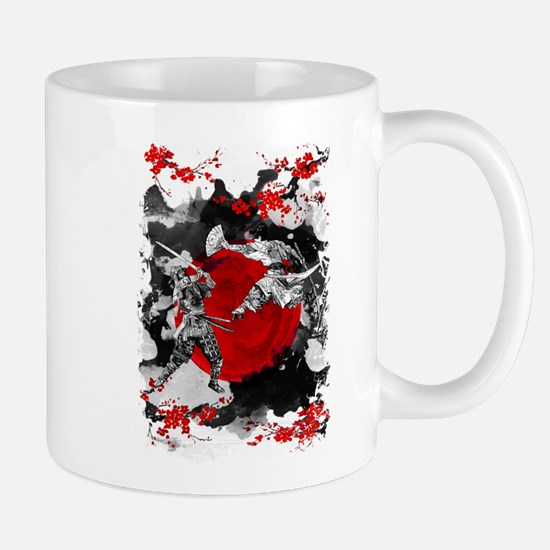 Samurai Fighting Mugs