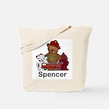 Spencer's Fire Bear Tote Bag