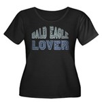 Bald Eagle Lover Bird Love Women's Plus Size Scoop