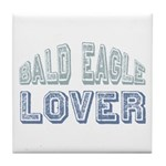 Bald Eagle Lover Bird Love Tile Coaster