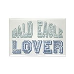 Bald Eagle Lover Bird Love Rectangle Magnet (10 pa