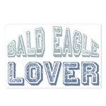 Bald Eagle Lover Bird Love Postcards (Package of 8