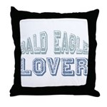 Bald Eagle Lover Bird Love Throw Pillow
