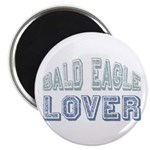 "Bald Eagle Lover Bird Love 2.25"" Magnet (100 pack)"