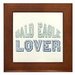 Bald Eagle Lover Bird Love Framed Tile