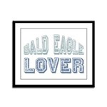 Bald Eagle Lover Bird Love Framed Panel Print