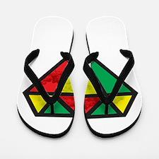 Reggae Diamond Flip Flops