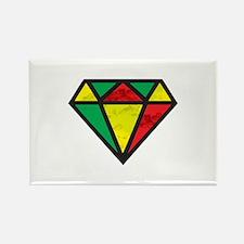 Reggae Diamond Magnets