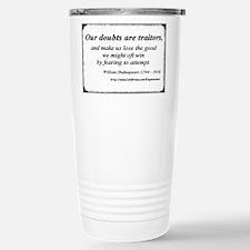 Cute Christian words of faith Travel Mug