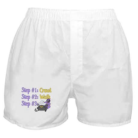 Step 1... Step 2... Boxer Shorts