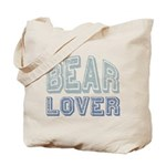 Bear Lover Grizzly Black Brown Tote Bag
