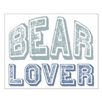 Bear Lover Grizzly Black Brown Small Poster