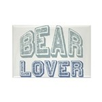 Bear Lover Grizzly Black Brown Rectangle Magnet (1